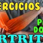 EJERCICIOS para PERSONAS con ARTRITIS / DOLORES DE ESPALDAS Y NUCA / MEJORA ARTICULACIONES.